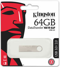 Pendrive Kingston in argento da 64 GB