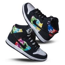 New Deadstock Men's Nike SB Dunk High TV Signal 7 UK 8 US in Hand DSWT