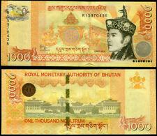 BHUTAN 1000 NGULTRUM 2016 P 34 UNC