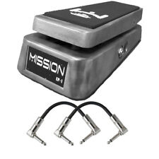 Mission Engineering EP1 Expression Pedal Boss FV500 Roland EV-5 Metal + Cables