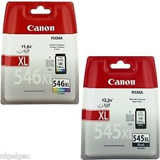 CANON CL546XL PG545XL Negro y Color IP2850 MG2450 MG2550 CL-546XL PG-545XL