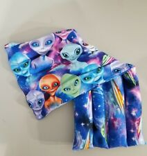 rice-flax seed therapeutic heating-cooling pad Aliens, UFO'S reversible