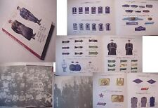 HISTORY RUSSIAN UNIFORM SOVIET POLICE:UNION insignia HAT COAT badge military art