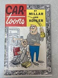 CAR toons  Magazine 1st Edition 1959 by Millar & Kohler, small size magazine