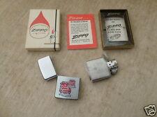 1965 Zippo Lighter DENNY LUMBER CO. 80TH ANNIVERSARY ESTAB.1886 MIDDLETOWN OHIO