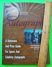 AUTOGRAPHS - A REFERENCE & PRICE GUIDE FOR SPORTS AND CELEBRITY Illustr'd MINT