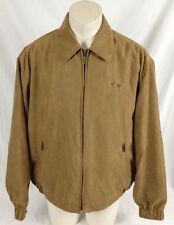 Weatherproof Palmetto Tree & Crescent Moon Brown Jacket with Liner Men's XL