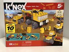 K'nex Construction Builds 10 Models 106 pc Imagine Play Build Lego Fun Ages 5+