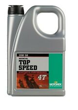 Motorex Motorcycle Top Speed fully Synthetic 15W/50 4T Engine 4 Litre