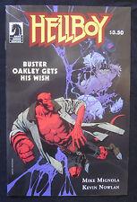 HELLBOY : BUSTER OAKLEY GETS HIS WISH 1-Shot 2011 Dark Horse NM 9.4 MIGNOLA
