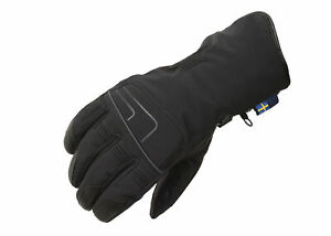 Lindstrands Vidar Waterproof Motorcycle Gloves Black Warm and Lightweight