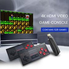 Spielekonsole Retro Spielkonsole 4K HDMI Out,Video player Konsolen + 628 Game