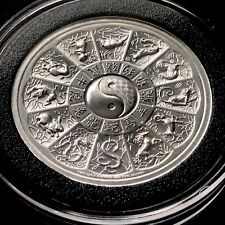CHINESE ZODIAC – YEAR OF THE PIG 2 oz 39mm 999 Fine Silver High Relief Medal 20