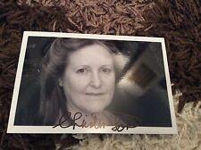 CHRISTINE LOHR (DOWNTON ABBEY) SIGNED PHOTO