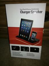 IPEGA CHARGER SPEAKER DUAL DOCK STATION Iphone 6 5s 5 4 4s Ipad Ipod GALAXY S 2