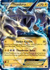 Thundurus ex/voltolos ex - 38/116 plasma Freeze-ex carte anglais pokemon NM