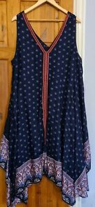 Monsoon Loose Fit Cover Up Dress XL