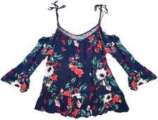 Camisas y tops de mujer blusa de color principal multicolor de viscosa/rayón