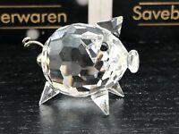 Swarovski Figur 010028 Schwein 3 cm. Top Zustand
