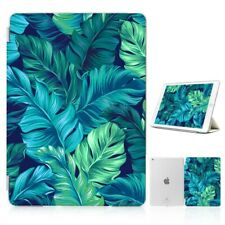 ( For iPad 2 3 4 ) Front Back Case Cover PB40120 Tropical Palm Monstera