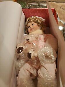 PARADISE GALLERIES KIRSTEN porcelain Doll-NIB