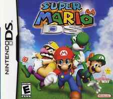 SUPER MARIO 64 DS SEALED NEW DS LITE 3DS 2DS FREE 1ST CLASS DELIVERY UK SELLER