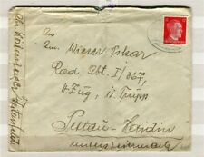 GERMANY; 1940 early Hitler LETTER/COVER fine used item