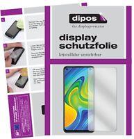 Schutzfolie für Xiaomi Redmi Note 9 Display Folie klar Displayschutzfolie