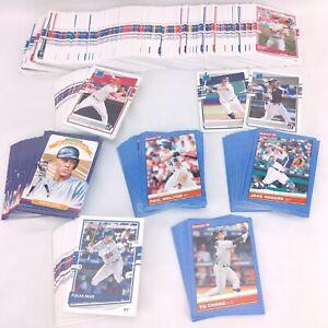 2020 Donruss Baseball Full Set of All 38 Variations - HOF, Name, Photo, City