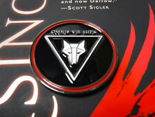 Howler Challenge Coin Red Rising by Pierce Brown