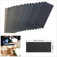 90 Pcs Car Automobile 15 Kinds Wet Dry Sandpaper 80-3000 Grit Assortment 9x3.6''