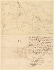 Map Fort Strother Al c1816 repro 12x15