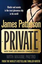JAMES PATTERSON (with Maxine Paetro) – Private, #1 in the series (Paperback)