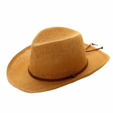70dc15f91a6 NEW STRAW STYLE COWBOY STETSON SUN HAT SUMMER FESTIVAL WIDE BRIM UK SELLER