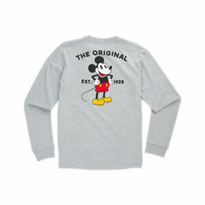 Boys Vans Off the Wall Disney X Mickey Mouse Shirt 90th Classic Long Sleeve Gift