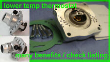 80°C Thermostat kit BMW E39 540i 535i E38 740i 735i X5 M62 - Reduce temperature