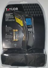 Taylor 14f320 Non Contact Infrared Thermometer F Or C Temp Range 49f 752f