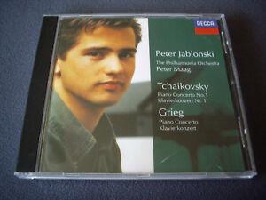 TCHAIKOVSKY GRIEG - Klavierkonzerte - Jablonski Philharmonia Maag - Decca