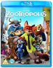 Zootropolis Blu-Ray DVD NUOVO