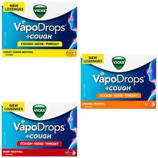 Vicks VapoDrops Cough Berry Menthol 36 Lozenges