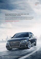 2016 Audi A4 Original Advertisement Print Art Car Ad J547