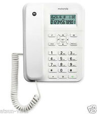 Motorola CT202i Corded Phone With Caller ID & Speaker Phone- White