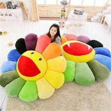 Takashi Murakami KiKi Ohaha Rainbow Flower Plush Cushion KaiKai Large Pillow2020