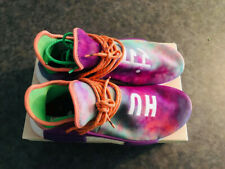 🔥MENS ADIDAS HUMAN RACE NMD PHARRELL HOLI FESTIVAL CHALK CORAL SIZE 11 with box
