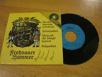 """7"""" Single Frohnauer Hammer Hammer Hans Autogramm Vinyl Amiga Quartett 5 56 083"""