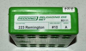 Redding .223 Rem FL 2-Die Set-(80111) NEW