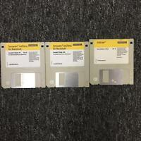 "Symantec Version 4.0 Antivirus Software For Macintosh 3.5 3 1/2"" Floppy Disc Set"