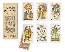 Tarocco INDOVINO DAL NEGRO Design SERGIO RUFFOLO 78 Carte