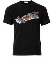 F1-1978-McLaren-m26-Ford-Cosworth-Engine-Team-James-Hunt-T-Sh FAN T Shirt S-XXL