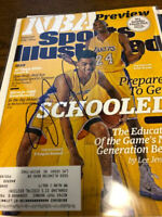 2015 D'Angelo Russell Kobe LA Lakers Autographed Signed Sports Illustrated COA